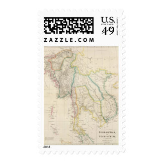 Burmah, Siam, and Cochin China Postage Stamps