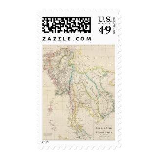 Burmah, Siam, and Cochin China Stamps