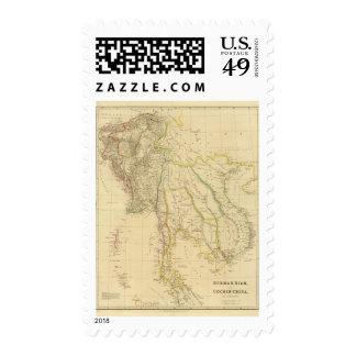 Burmah, Siam, Cochin China Postage Stamp