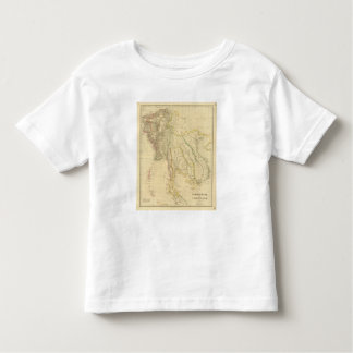 Burmah, Siam, Cochin China Tee Shirts