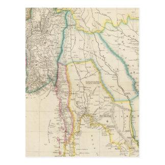 Burmah, Tailandia, y Cochin China Postal