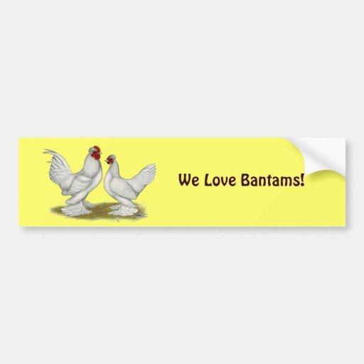 Burmese Bantams Bumper Sticker