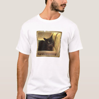 Burmese Cat /Antique Golden Box, Series 1, pose 1 T-Shirt