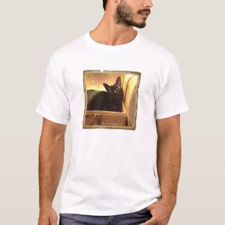 Burmese Cat /Antique Golden Box, Series 1, pose 4 T-Shirt