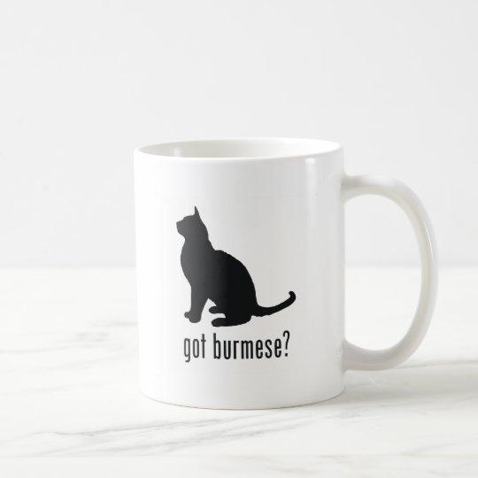 Burmese Cat Coffee Mug