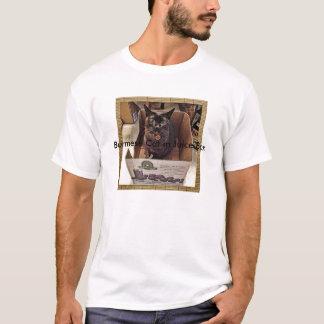 Burmese Cat in Juice Box T-Shirt