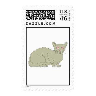Burmese Cat Postage