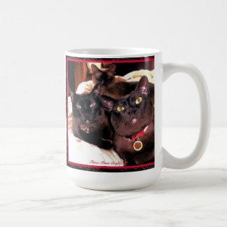 Burmese Cat Trio Coffee Mug