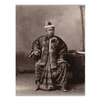 Burmese magistrate, late 19th century postcard