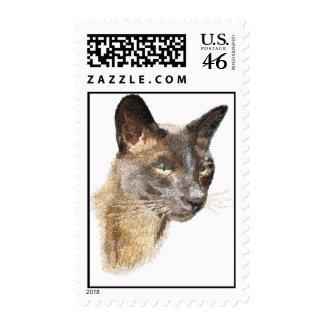 Burmese Postage Stamps