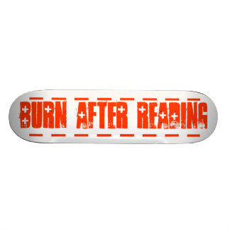 Burn After Reading Skateboard