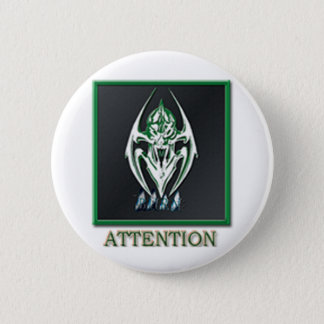 BURN ATTENTION BADGE BUTTON