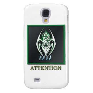 BURN ATTENTION BADGE SAMSUNG GALAXY S4 COVERS