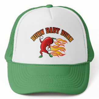 Burn Baby $18.95 (11 colors) Truckers Hat hat