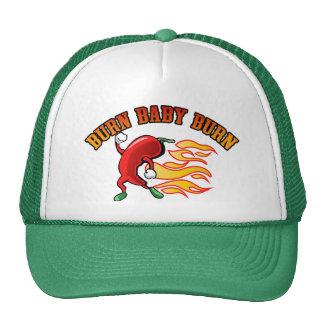 Burn Baby $18.95 (11 colors) Truckers Hat