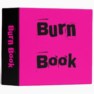Burn Book Binder