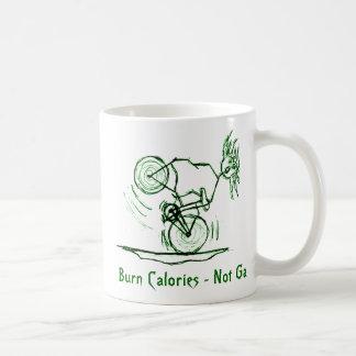 Burn Calories - Not Gas Classic White Coffee Mug