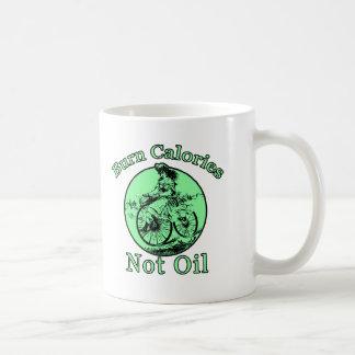 Burn Calories Not Oil Classic White Coffee Mug