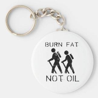 Burn Fat hike Keychain