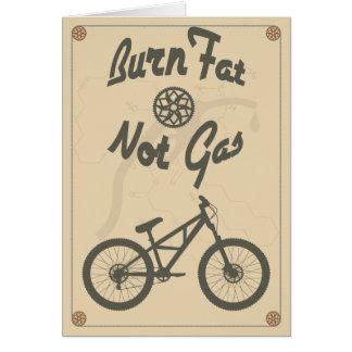 Burn fat not gas card