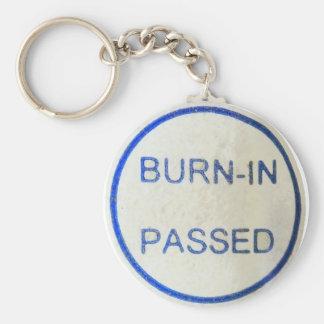 burn-in passed keychain