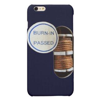 burn-in passed matte iPhone 6 plus case