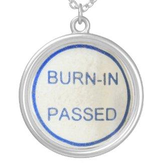 burn-in passed round pendant necklace