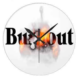 Burn Out Wallclocks