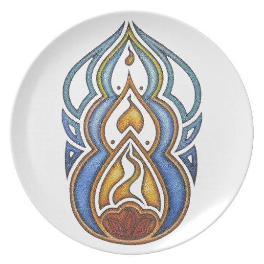 Burn Plate