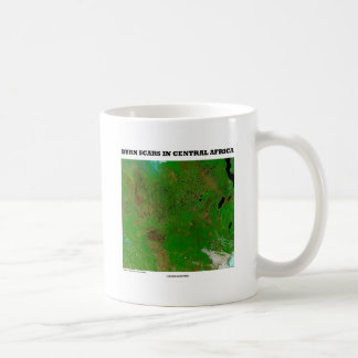 Burn Scars In Central Africa (Picture Earth) Coffee Mug