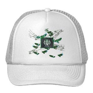 BURN_SHIRT_F TRUCKER HAT