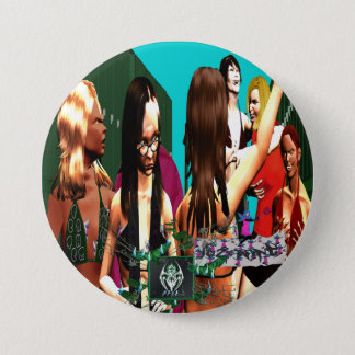 BURN STORY: Feather Weights W/ Foul Mouthed FairyT Pinback Button