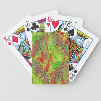 Burn Text Poker Deck