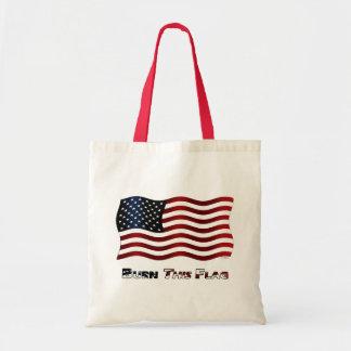 Burn This Flag Tote Bag