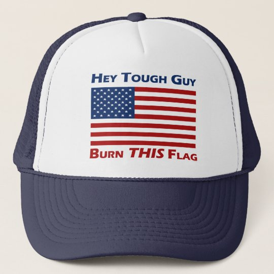 Burn THIS Flag Trucker Hat