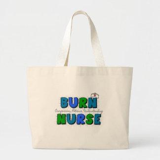 Burn Unit Nurse Large Tote Bag
