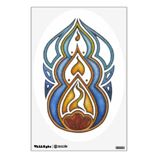 Burn Wall Decal
