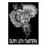 Burn with Mystery Postcards