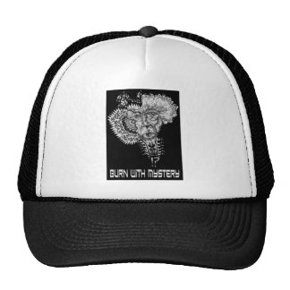 Burn with Mystery Trucker Hat