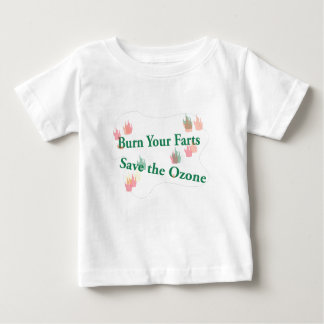 burn your farts baby T-Shirt