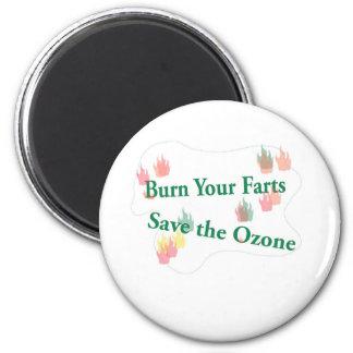 burn your farts magnet