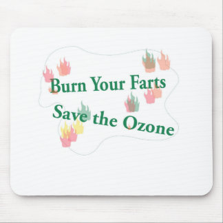 burn your farts mouse pad