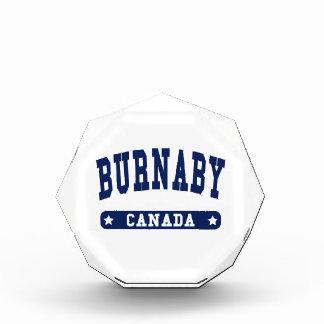 Burnaby Acrylic Award