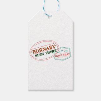 Burnaby Been there done that Gift Tags