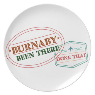 Burnaby Been there done that Melamine Plate
