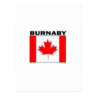 Burnaby, British Columbia Postcard