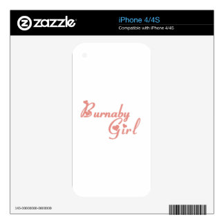 Burnaby Girl iPhone 4S Decal
