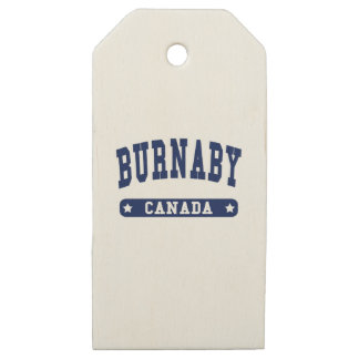 Burnaby Wooden Gift Tags