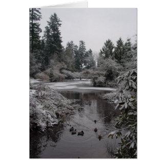 Burnaby's Central Park - Lower Pond Card