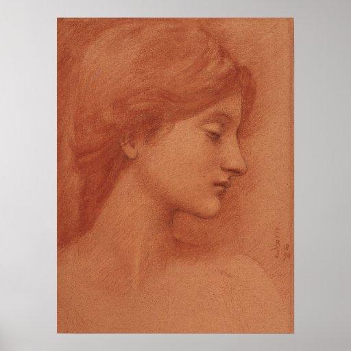 Burne-Jones Study CC0009 Poster